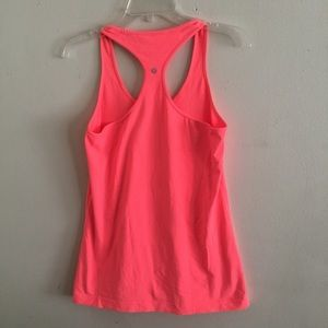 Lululemon bright orange tank